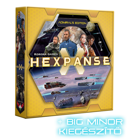 HEXPANSE ADMIRAL + BIG MINOR addon