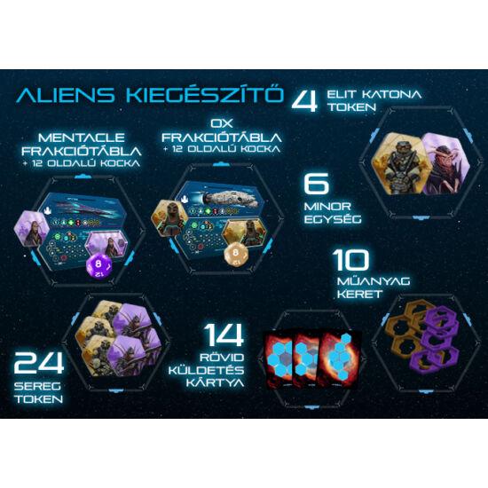 HEXPANSE Aliens kiegészítő